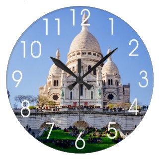 Sacre Coeur Basilica, French Architecture, Paris Wallclock