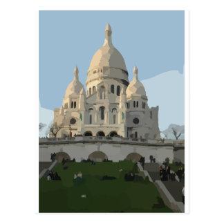 Sacre Coeur Basilica Postcard