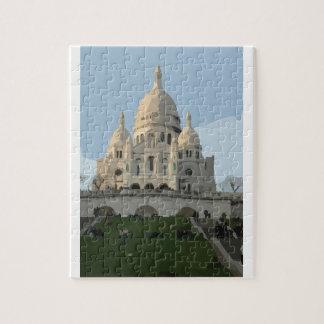 Sacre Coeur Basilica Puzzle
