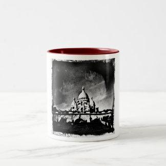 Sacre Coeur BW Two-Tone Mug