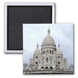 Sacre Coeur de Paris Square Magnet