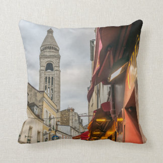 Sacre Coeur Montmartre throw cushion