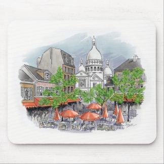 Sacre Coeur mousepad