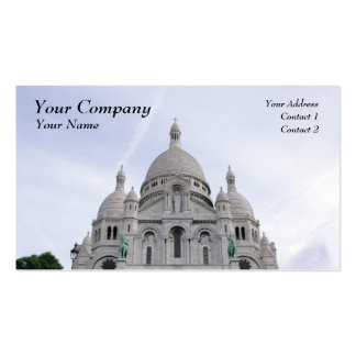 Sacre Coeur Pack Of Standard Business Cards