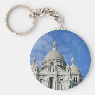 Sacré-Cœur, Paris, France Keychains