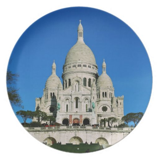 Sacre Coeur Party Plate