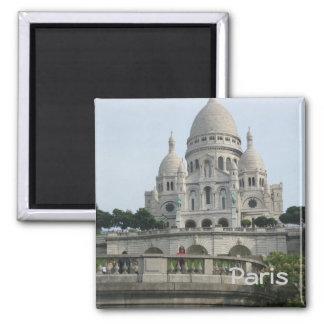 Sacré-Cœur Square Magnet