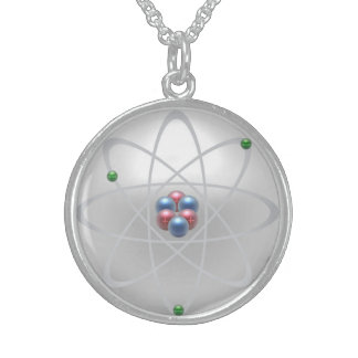 """""""Sacred Atomic Structure"""", Sterling Necklace"""