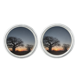 Sacred Baobabs Cuff Links