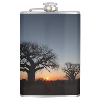 Sacred Baobabs Hip Flask