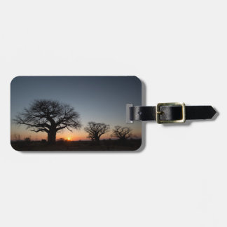 Sacred Baobabs Luggage Tag