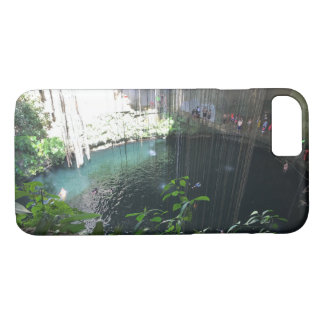Sacred Blue Cenote, Ik Kil,Mexico iPhone 7 Case