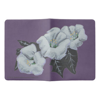 Sacred Datura White Wildflowers Extra Large Moleskine Notebook