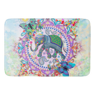 Sacred Elephant Bath Mat