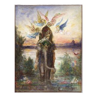 Sacred Elephant by Gustave Moreau Photographic Print
