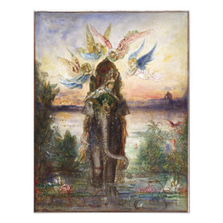 Sacred Elephant by Gustave Moreau Photographic Print