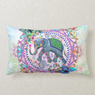 Sacred Elephant Lumbar Cushion