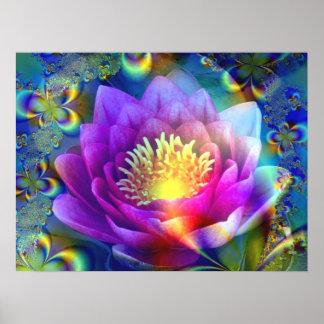 Sacred Flower of Love - Poster