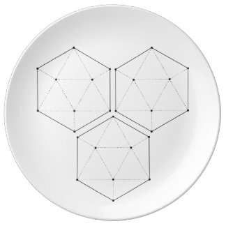 Sacred Geometry 4 Plate
