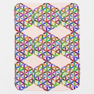 Sacred Geometry Baby Blanket