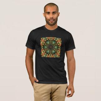 Sacred Geometry Basic Mens T-Shirt Dark