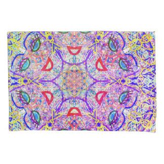 "Sacred Geometry ""Can Can"" Pillow cases by MAR"
