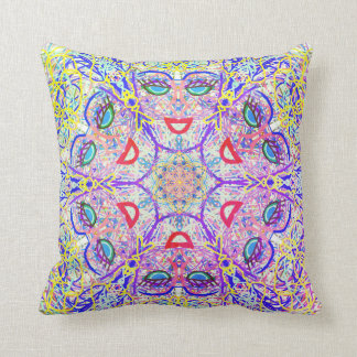 "Sacred Geometry ""Can Can"" Pillows by MAR"