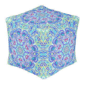 "Sacred Geometry ""Can Can"" Pouff by MAR Pouf"