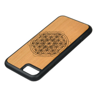 Sacred geometry carved iPhone 8/7 case