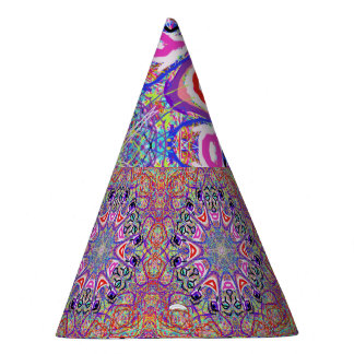 """Sacred Geometry """"Clowns"""" Party Hat by MAR"""