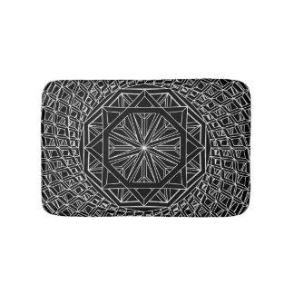 Sacred Geometry Custom Small Bath Mat