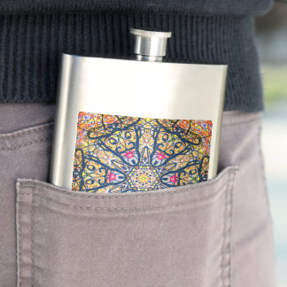 "Sacred Geometry ""Don Quijote"" Flask by MAR"