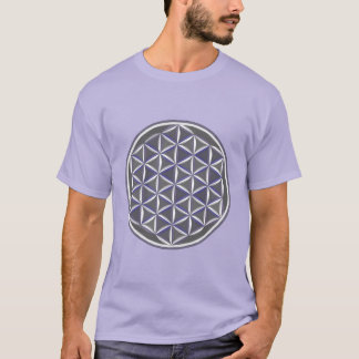 Sacred Geometry: Flower of Life - Optical Contrast T-Shirt