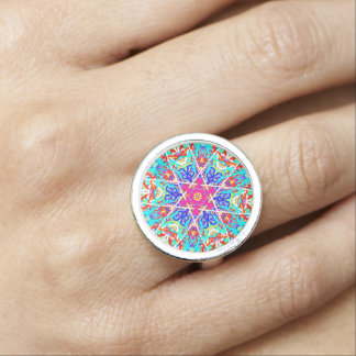 "Sacred Geometry ""Gargoyle"" Ring by MAR"