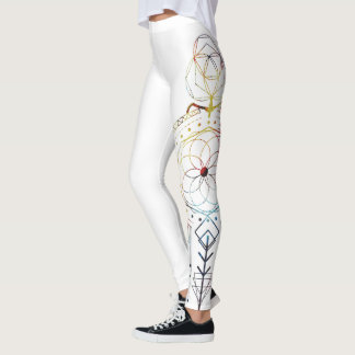 Sacred Geometry Inspired Yoga Pant for Women