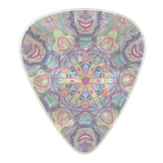 "Sacred Geometry ""kybalion"" Guitar Pick by MAR"