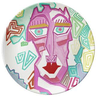 "Sacred Geometry ""Madame"" Plate"