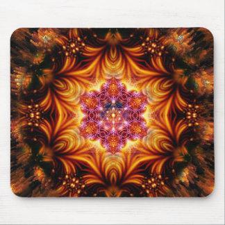Sacred Geometry Mandala Mouse Pad