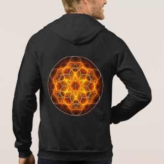 Sacred Geometry - Metatron Cube - Flower of Life Hoodie