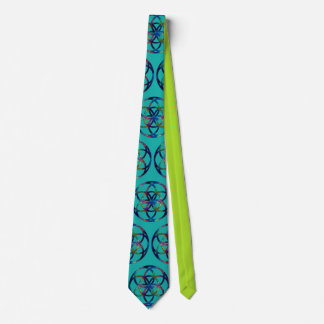 Sacred Geometry Seed of Life Fractal Tie