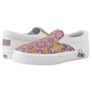 """Sacred Geometry Sneakers """"Happy"""" by MAR"""