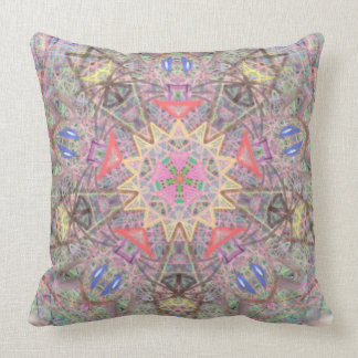 "Sacred Geometry  ""Solar Eclipse"" Pillow by MAR"