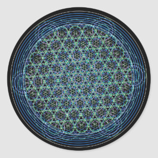 Sacred geometry sticker