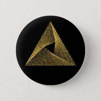 Sacred Geometry Symbol 6 Cm Round Badge