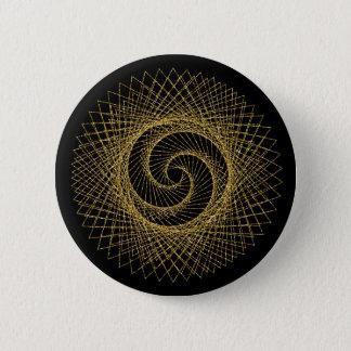 Sacred Geometry Symbol 6 Cm Round Badge