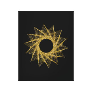 Sacred Geometry Symbol Canvas Print