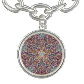 "Sacred Geometry ""Tribal Faces"" Bracelet by MAR"