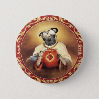 Sacred Heart Chewie Button