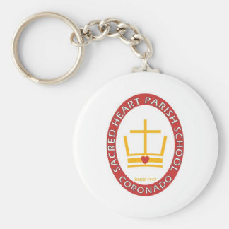 Sacred Heart Coronado Logo Key Ring