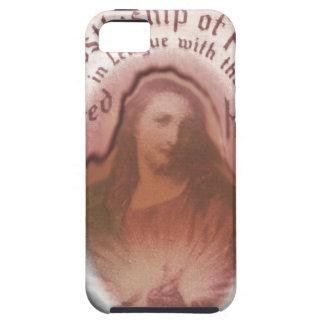 Sacred Heart Jesus Christian Catholic Modern Art iPhone 5 Covers